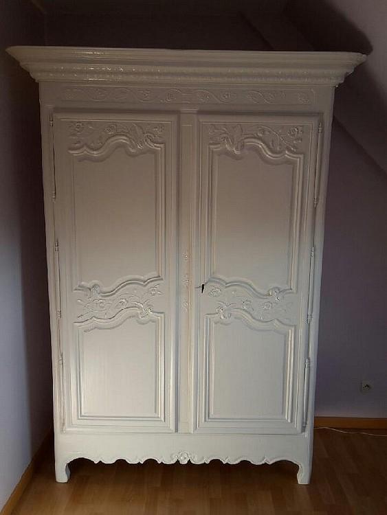 Peinture laquée sur meuble