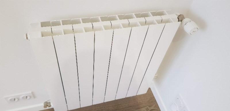 Peinture laque sur radiateur
