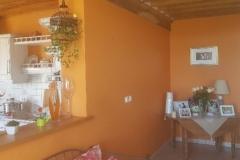 Murs peints séjour