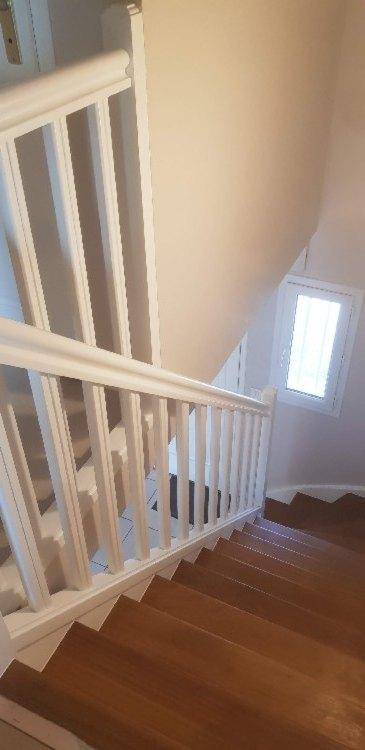 Peinture sur escalier