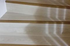 Lames PVC collées